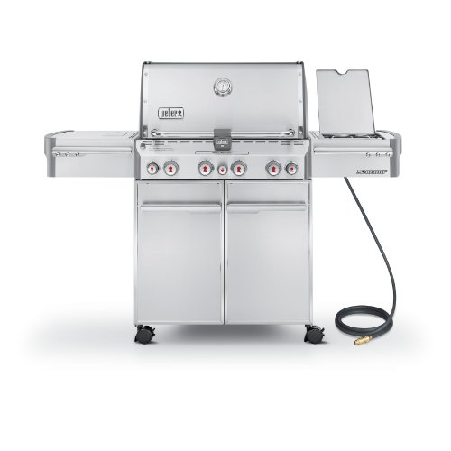 Weber Summit S  Grill Natural Gas Grill On Deck