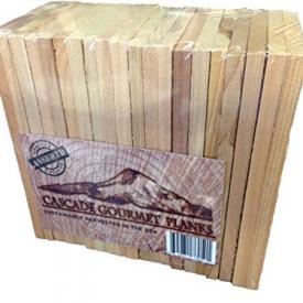 20 Cascade Gourmet Cedar Planks – Individual Serving (3.5 x 6.5 x 3/8)