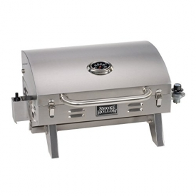 Smoke Hollow 205 Stainless Steel Tabletop LP Gas Grill