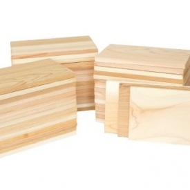 Case of 50 Cedar 4×7 Grilling Planks Plate Size – Restaurant Quantity