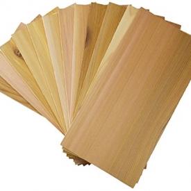 Cedar Grilling Planks (12 Pack) Western Red Cedar 5″x11″