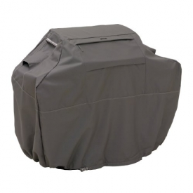 Classic Accessories Ravenna Grill Cover – Premium BBQ Cover with Reinforced Fade-Resistant Fabric and, Large, 64-Inch