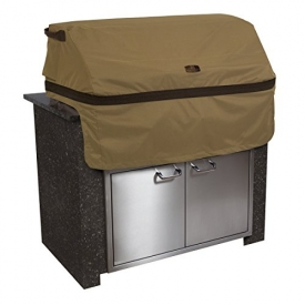 Classic Accessories 55-332-032401-EC Hickory Cover For Built-In Grills, Medium, Tan