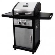 Dyna-Glo Black & Stainless Premium Grills, 2 Burner, Liquid Propane Gas