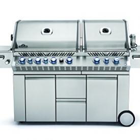 Napoleon PRO825 RSBINSS Prestige Natural Gas Grill, Stainless Steel