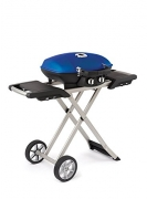 Napoleon TQ285X-BL Portable Propane Grill with Cart, Blue