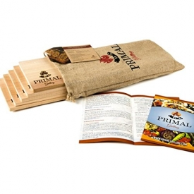 Premium Cedar Planks For Grilling | Thicker Design For Moister & More Flavorful Salmon, Steaks, Seafood & More | More Uses Per Plank | FREE Recipe Card | Just Soak, Grill & Serve | 5 Pack