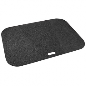 The Original Grill Pad Black Grill Pad, Rectangle