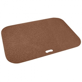 The Original Grill Pad Brown Grill Pad, Rectangle