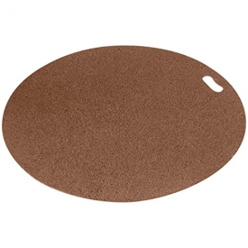 The Original Grill Pad Brown Grill Pad, Round