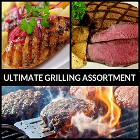 Ultimate Grilling Assortment – Includes Steaks, Burgers, and Chicken – Chicago Steak Company – ASSRT401