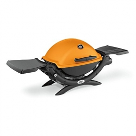 Weber 51190001 Q1200 Liquid Propane Grill, Orange