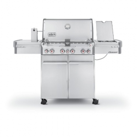 Weber Summit S-470 Stainless-Steel Liquid-Propane Gas Grill 7170001