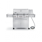 Weber Summit 7470001 S-670 Stainless-Steel 769-Square-Inch 60,800-BTU Natural-Gas Grill