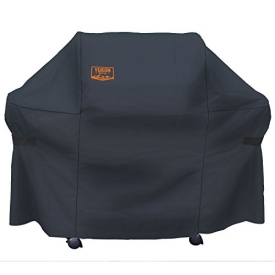 Yukon Glory 8265 Premium Grill Cover for Weber Summit 400-Series Gas Grills (Weber 7108 Grill Cover), Black